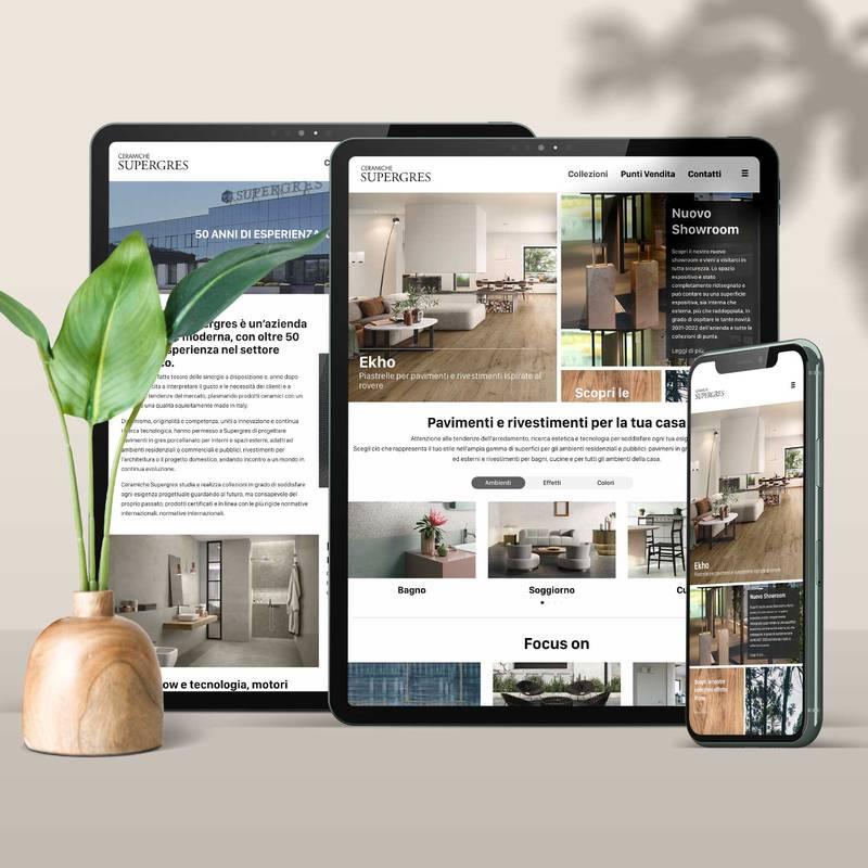 En ligne le nouveau site web